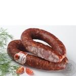 Колбаса краковская Луганские деликатесы полукопченые Украина