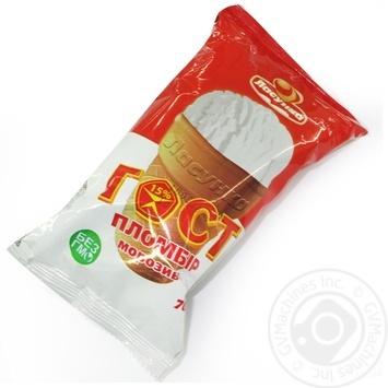 Морозиво Пломбір Гост в вафельному стакані Ласунка 70г - купить, цены на Novus - фото 1