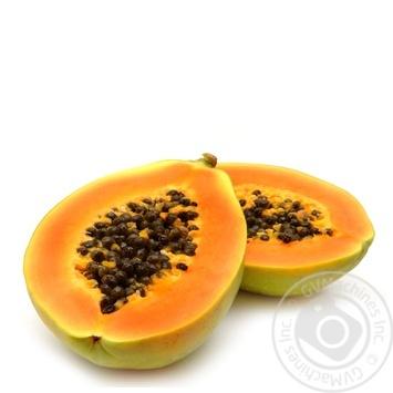 Фрукт папайя Экзотические фрукты свежая