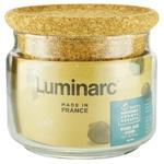 Банка Luminarc Pure Jar Cork для сипучих продуктів 0,5л