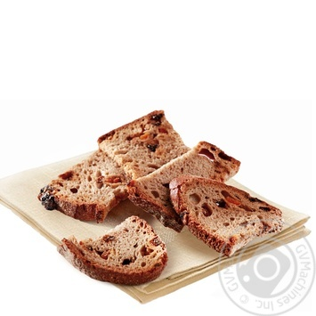 Rusks rye-wheat with prunes