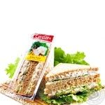 Sandwich Amstor with chicken Ukraine