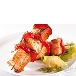 Shashlik Amstor fish grill Ukraine