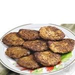 Pancakes Amstor liver fried Ukraine
