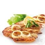 Рыба пангасиус с луком гриль