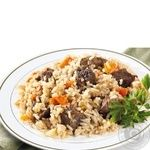 Pilaf Amstor with beef