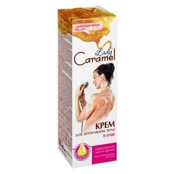 Крем Lady Caramel для депиляции в душе 100мл