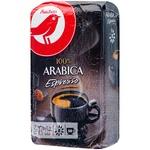 Auchan Arabica Espresso Ground Coffee 250g