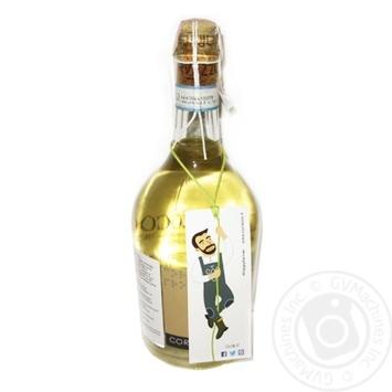 Вино игристое Corvezzo Prosecco Doc Treviso Bio белое сухое 10.5% 0.75л