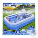 Бассейн надувной Bestway для семейного отдыха 262*175*51см