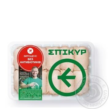 Мясо бедра Epikur цыпленка-бройлера охлажденное весовое (большая упаковка)