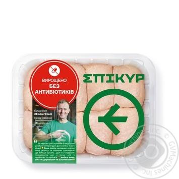 Мясо бедра Epikur цыпленка-бройлера охлажденное весовое (маленькая упаковка)