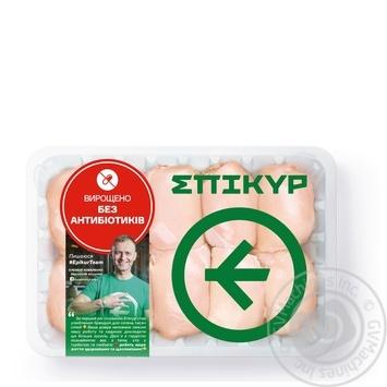 Филе бедра Epikur цыпленка-бройлера охлажденное весовое (большая упаковка)