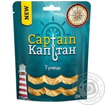 Тунець Капітан солоний сушений 30г - купити, ціни на Ашан - фото 1