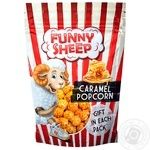 Funny Sheep Popped Corn Coated With Caramel 100g