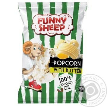 Veseli barantci with flavor of butter popcorn 90g - buy, prices for CityMarket - photo 1