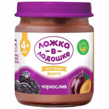 Lozhka v Ladoshke Puree With Prunes 100g - buy, prices for Furshet - image 1