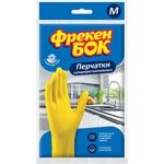 Rubber gloves Freken bok size M