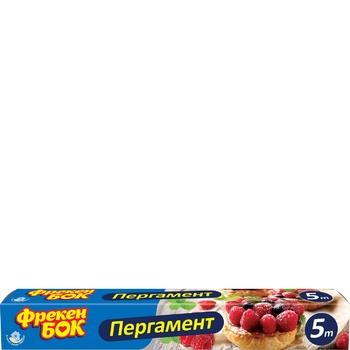 Пергамент для выпечки Фрекен Бок 5м - купить, цены на Novus - фото 1