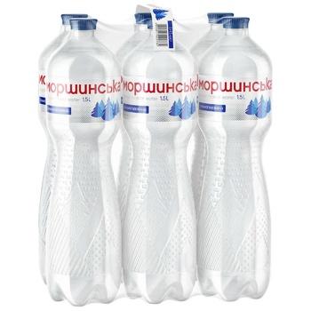 Минеральная вода Моршинская сильногазированная 1,5л - купить, цены на Метро - фото 3