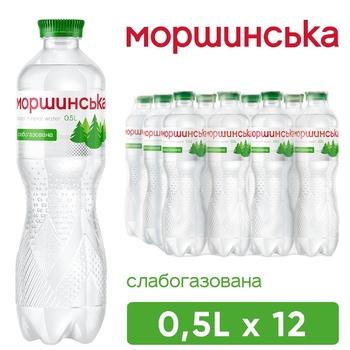Morshynska Carbonated Mineral Water 500ml