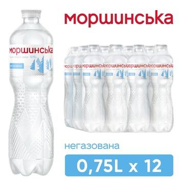 Вода минеральная Моршинская негазированная 0,75л - купить, цены на Метро - фото 1