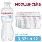 Morshynska non-carbonated water 330ml
