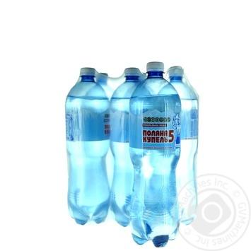 Вода Поляна Купель №5 минеральная 1,5л опт*6шт