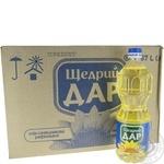 ОЛІЯ РАФ ЩЕДРИЙ ДАР 0,87Л ОПТ*15ШТ