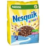 Готовий сухий сніданок NESTLÉ® NESQUIK® Alphabet 460г