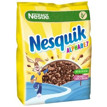 Готовий сухий сніданок NESTLÉ® NESQUIK® Alphabet 460г - купити, ціни на CітіМаркет - фото 1