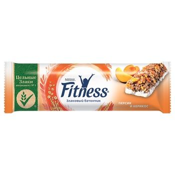 NESTLÉ® FITNESS® Peach and Apricot cereal bar 23,5g - buy, prices for EKO Market - photo 1
