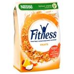 Готовый сухой завтрак NESTLÉ® FITNESS®&Fruits из цельнозерновой пшеницы с фруктами 400г