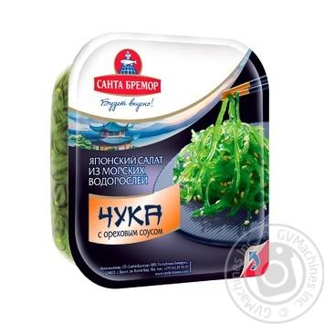 Салат Санта Бремор Чука из морских водорослей с ореховым соусом 150г - купить, цены на Novus - фото 1