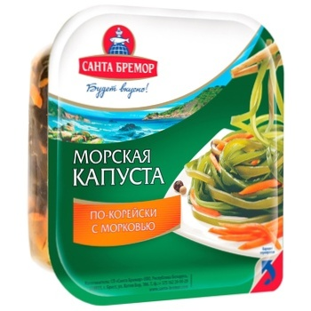 Santa Bremor with carrot pickled laminaria 150g - buy, prices for CityMarket - photo 1