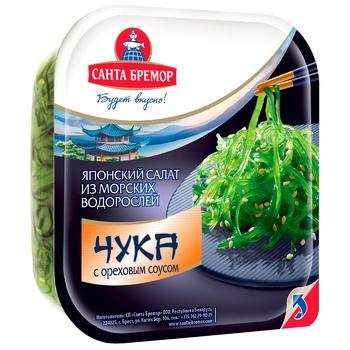 Santa Bremor Chuka with nut sauce seaweed salad 150g - buy, prices for Auchan - photo 1
