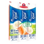 Santa bremor with cheese and greens chilled crab sticks 50g