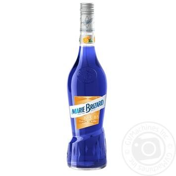 Лікер Marie Brizard Curacao Bleu 25% 0,7л - купити, ціни на Фуршет - фото 2