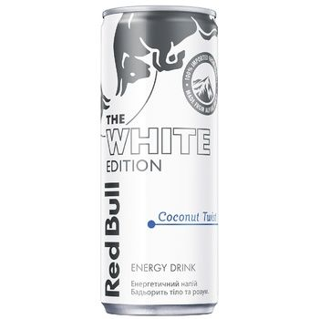 Red Bull White Edition Coconut Twist Energy Drink 0,25l