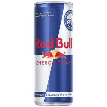Red Bull Energy Drink 0,25l - buy, prices for Auchan - photo 1