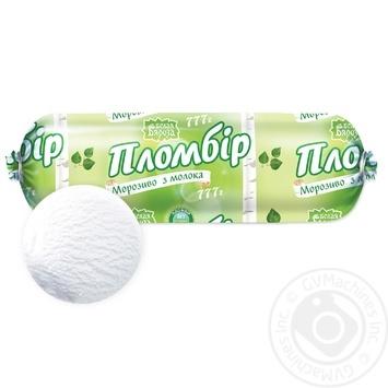 Мороженое Белая бяроза пломбир классический 777г - купить, цены на Фуршет - фото 1
