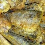 Fried black cod