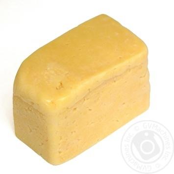 Cheese Dobriana semihard 50% Ukraine