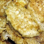 Meat fritters with chicken