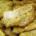 Fried swai fish fillet