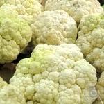Овочі цвітна капуста свіжа