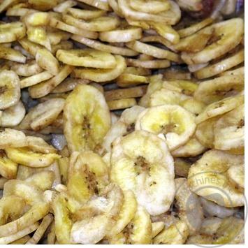 Чипсы банан сушеная