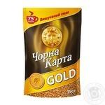 Кофе Чорна Карта Gold растворимый 150г