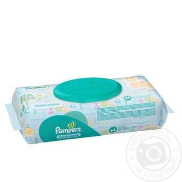 Pampers Baby Fresh Clean Baby Wipes 64pcs - buy, prices for Furshet - image 2