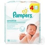 Pampers baby wipes Sensitive 224pcs